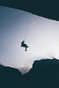 End of a climbing day (Federico Ravassard) Tags: climbing climber mountain alps alpinism dawn sunset vsco panasonic lx100 alpes france italy mountaineer