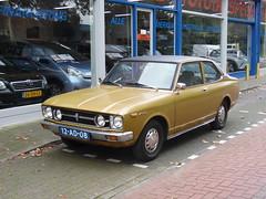 Toyota Carina 1600 (19 09 1973) (brizeehenri) Tags: toyota carina 1973 12ad08 vlaardingen