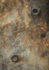 The backside of the wood stove door (Funchye) Tags: 105mm d610 nikon rusty rust macromondays