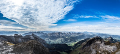 Alps Panorama (Explored) (potto1982) Tags: nikon landschaft europa nature switzerland berge berg panorama swiss natur alpen alps 2017 mountains landschaftsbild schweiz landscape sigma nikond810 sky d810 himmel europe panoramabild mountain wildhaus appenzellinnerrhoden ch