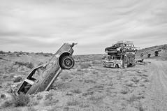 (Farlakes) Tags: car graveyard abandoned wreck decay desert farlakes oldsmobile
