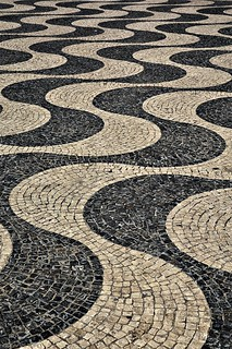 Rossio Square Abstract - Lisbon