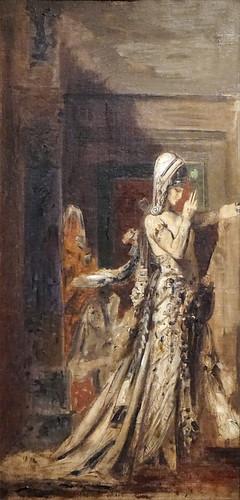 Salomé de Gustave Moreau (Exposition Médusa, musée d'art moderne de la ville de Paris)