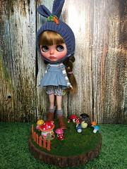 #28 ( base doll: Neo Blythe Varsity Dean ) custom commission .. 😘..