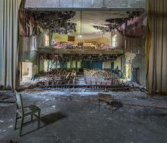 Mosquito Theatre - Abandoned in Italy