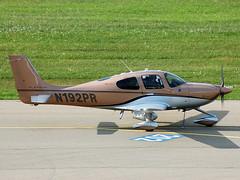 N192PR Cirrus SR22T Turbo (johnyates2011) Tags: friedrichshafen aerofriedrichshafen n192pr cirrus sr22 cirrussr22