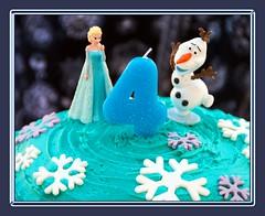 Frozen Birthday (Leonard J Matthews) Tags: four 4 birthday frozen fantasy elsa olaf characters fiction mythoto australia blue