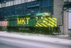 MKT GP39-2 377 (Chuck Zeiler) Tags: mkt gp392 377 railroad emd locomoive chuckzeiler chz bensenville