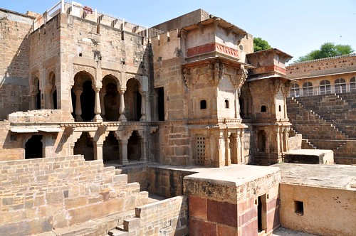 Chand Baori. Abhaneri, Rajasthan, India.