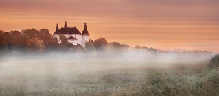 Old castle in morning.