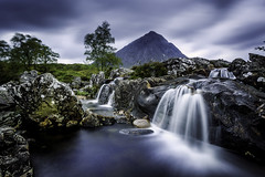 Waterfall (tony_shaw60) Tags: buachailleretivemor longexposure slowshutter river stream scotland glencoe rivercoupall