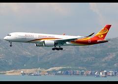 Airbus | A350-941 | Hongkong Airlines | B-LGA | Hong Kong | HKG | VHHH (Christian Junker | Photography) Tags: nikon nikkor d800 d800e dslr 70200mm aero plane aircraft airbus a350941 a350900 a350 a359 a350xwb hongkongairlines bauhinia hx crk hx253 crk253 bauhinia253 blga heavy widebody arrival landing 25r fog haze airline airport aviation planespotting 124 hongkonginternationalairport cheklapkok vhhh hkg hkia clk hongkong sar china asia lantau terminal2 t2 skydeck christianjunker flickraward flickrtravelaward zensational worldtrekker superflickers hongkongphotos