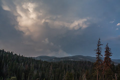 Oh, clouds (njaaames) Tags: sky california clouds sequoianationalpark sequoia trees mammatus mammatusclouds landscape