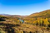 Autumncolors in Nordland Norway (Einar Schioth) Tags: autumn autumncolors sky sunshine sun day water canon vividstriking blusky nationalgeographic ngc norway norge nature nordland krokstrand mountains mountain landscape lake outdoor photo picture einarschioth