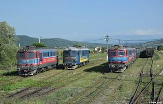 GFR 60 1563, 60 1574 (former Servtrans) & 60 1505, Govora, 10-7-2017 9:14