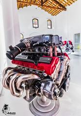 The Heart of the Enzo (ilandman4evr) Tags: ilandman4evr d500 enzo engine ferrari f140b65°v12 naturally aspirated cars tokina 1116mm f28 museo museum maranello italy galleria