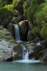 Val Vertova - Gazzaniga, Italy (keggia) Tags: italy val vertova mountain water sun waterfall