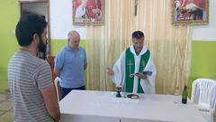 Misa de diario en la parroquia