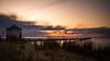 Seebrücke im Sonnenuntergang (MarvinG. Fotografie) Tags: sunset sonnenuntergang langzeitbelichtung longexpo longexposure coast beach clouds seaside pentax pentaxk5 formatthitech ndfilter graufilter 10stopfilter