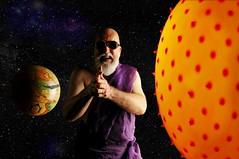 When God Plays Jokes (Studio d'Xavier) Tags: werehere astronomyeclipsespace eclipse solareclipse god sun earth handshadowpuppets shadow 365 august212017 233365