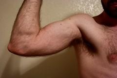 fullsizeoutput_ce2 (tate613) Tags: hairy ass butt legs arms furry hot sexy nipples tail junk jock balls singlet flex bicep stomach