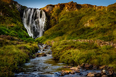 Clashnessie Falls (AdeRussell) Tags: waterfalls assynt landscapes clashnessie scotland sutherland travel clashnessiefalls unitedkingdom gb