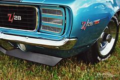 1969 Z28 / RS (Hi-Fi Fotos) Tags: 69 chevy chevrolet camaro z28 rs vintage american classiccar musclecar pony azureturquoise hidden headlight badge chrome nikon d5000 dx hififotos hallewell