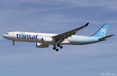 Air Transat (30th Anniversary Livery) A330-300 C-GKTS (birrlad) Tags: gatwick lgw international airport london uk aircraft aviation airplane airplanes airline airliner airlines airways approach arrival arriving airbus a330 a333 a330300 a330343 airtransat 30thanniversary livery a330342 cgkts colour scheme decals titles