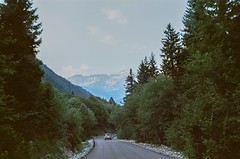 Go slow and you'll go everywhere (My . December) Tags: nature wild wilderness trip voyage summer sunset landscape mountains wood forest grass green sky clouds road hiking backpacking georgia caucasus racha rachalechkhumi shovi mydecember nikolozjorjikashvili photography film analog analogue vintage camera nikonf100 kodakektar100 35mm roll f18 50mmf18 river scape trees