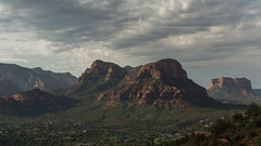 Sedona Skyline in the Late Afternoon (Ken Krach Photography) Tags: sedonaarizona