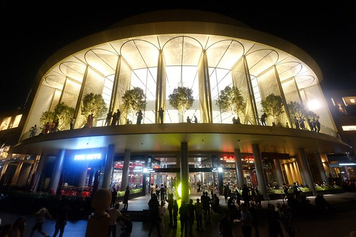 Apple Dubai Mall at Night