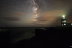 The Hook and The Milky Way... (fearghal breathnach) Tags: astrophotography hookhead milkyway longexposure nightsky sky stars astronomy tracker threeleggedthing