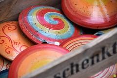 Garden decorations (petrOlly) Tags: europe europa germany deutschland pottery toepfermarkt moenchengladbach rheydt schlossrheydt schloss handmade object objects