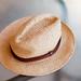 Summer panama straw hat (Strohhut)