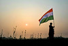 70 Years of Independence - The Invisible and Unsung Heroes (pallab seth) Tags: जयहिंद india nation tricolour nationalflag bengal independenceday 2017 celebration indian woman silhouette india70