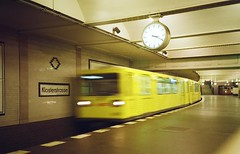 Klosterstrasse (Myahcat) Tags: revolog kolor revologkolor 35mm film lca lka lomo lomography summer ubahn berlin germany train subway underground transport blur