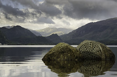 Centenary Stone (pedalpusher139) Tags: lakedistrict cumbria lake outdoors mountains landscape