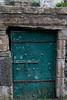 Bonamargy Friary Teal Rusted Door (felipetgarcia) Tags: ballycastle northernireland unitedkingdom gb antrim causewaycoast ruins cemetaries