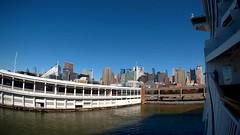 Breakaway- NYC Sailaway (KathyCat102) Tags: norwegian ncl breakaway cruise ship sjcamsj5000xelite actioncamera bermuda timelapse nyc newyorkcity cruisepier