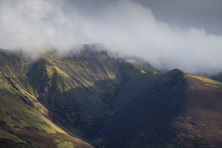 First light on Blencathra
