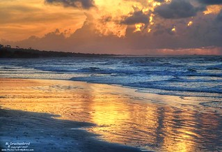 Sunrise over the Atlantic, Myrtle Beach South Carolina
