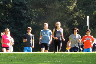 Young people exercising in San Francisco's Golden Gate Park 170915-152547 C4
