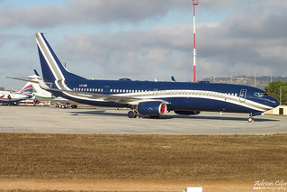 Global Jet Luxembourg --- Boeing 737-900ER BBJ --- LX-DIO