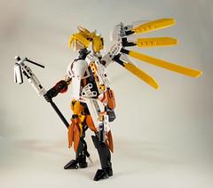 Overwatch - Mercy (0nuku) Tags: bionicle lego overwatch ow mercy angela zeigler support healer angel caduceus