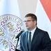 Seszták Miklós nemzeti fejlesztési miniszter, a KDNP alelnöke beszédet mond a Konstantinápolyi Egyetemes Patriarchátus Magyarországi Exarchátusa épületének átadó ünnepségén a VIII. kerületi Múzeum utcában 2017. augusztus 20-án.