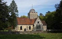 Old St Peter and St Paul's Church, Albury (p.mathias) Tags: church churches albury surrey england uk europe sony a5100 csc united kingdom history historic historical building buildings architecture rural