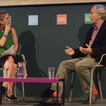 Richard Ford with Kirsty Wark