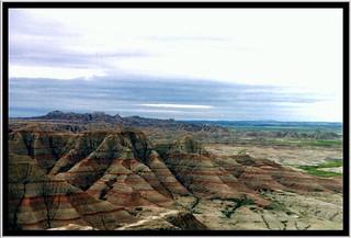 Painted Desert ~ Petrified Forest ~ Arizona United States  ~ Badlands