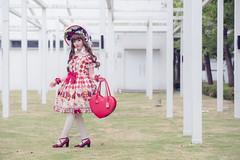 SDF_9635 (SendoFu) Tags: bonnet lolita ボンネット エプロン風スカート blouse bl ブラウス headbow kc カチューシャ bnt 蕾絲 維多利亞 jsk op onepiecedress ワンピース jumperskirt ジャンパースカート nop lolitafashion 蘿莉塔 蘿莉塔時裝 ロリータ・ファッション sweetlolita classicallolita