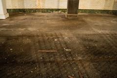 track through dirt (Nicholas Eckhart) Tags: america us usa abandoned cleveland subway tour